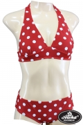 Triangel-Bikini Retro Polka Dots