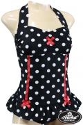 Limited Edition Vintage Polka Dots Swimsuit